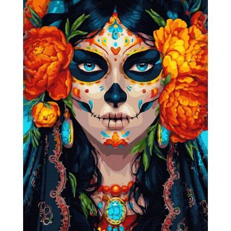 девушка на карнавал