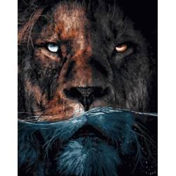 Грозный лев