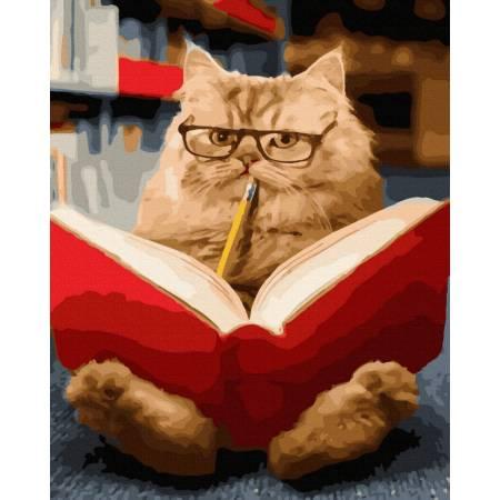 Пушистый читатель