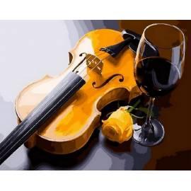 Скрипка и бокал