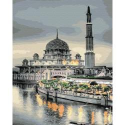 Мечеть на закате