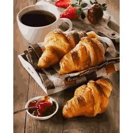 Утро с кофе и десертом