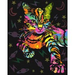 Неоновая кошка