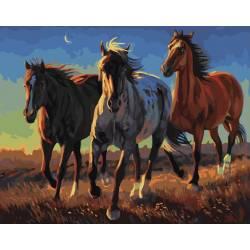 Степные лошади