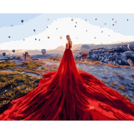 Картина по номерам Долина воздушных шаров GX24812, Rainbow Art