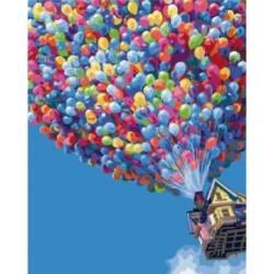 Полёт на воздушных шариках