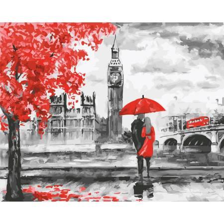 Картина по номерам Лондон осенью GX22089, Rainbow Art