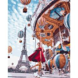 Воздушные шары Парижа