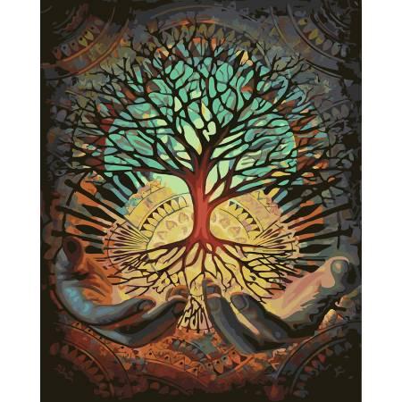 Картина по номерам Дерево знаний GX23500, Rainbow Art