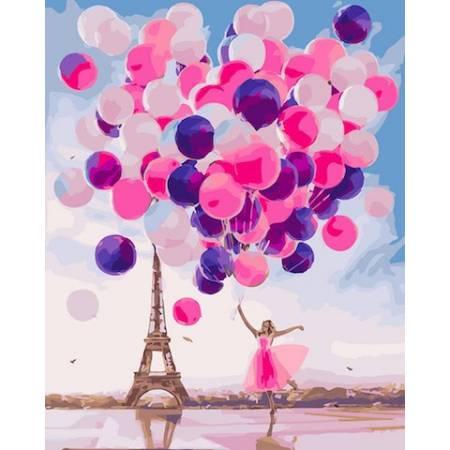 Картина по номерам Парижские шары GX24192, Rainbow Art