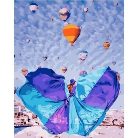 Картина по номерам Каппадокия GX24906, Rainbow Art