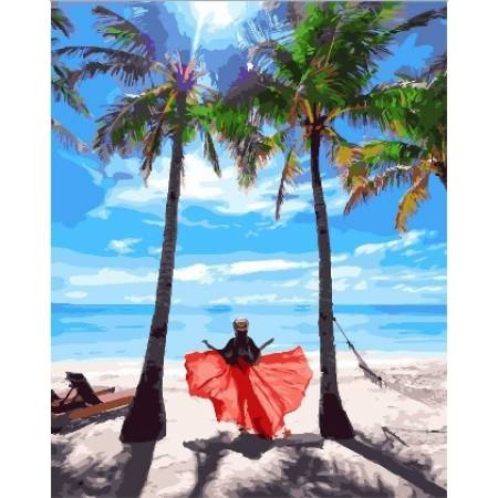 Картина по номерам Солнце Филиппин GX24918, Rainbow Art