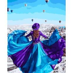 Парящее платье