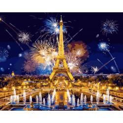 Салют в Париже