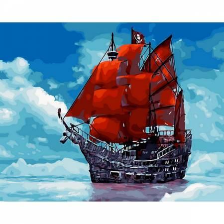 Картина по номерам Мечта Ассоль GX29453, Rainbow Art