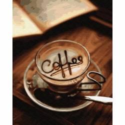 ароматное кофе в чашке