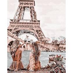 С видом на Эйфелеву башню