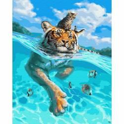 В плаванье