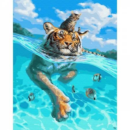 Картина по номерам В плаванье GX30145, Rainbow Art