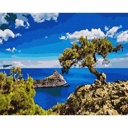 Картина по номерам Побережье Кипра GX30162, Rainbow Art