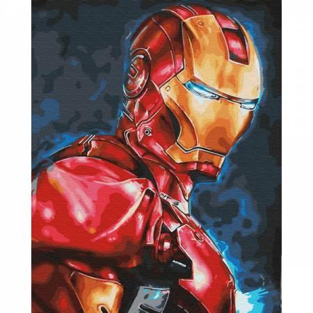 Картина по номерам Тони Старк GX30164, Rainbow Art