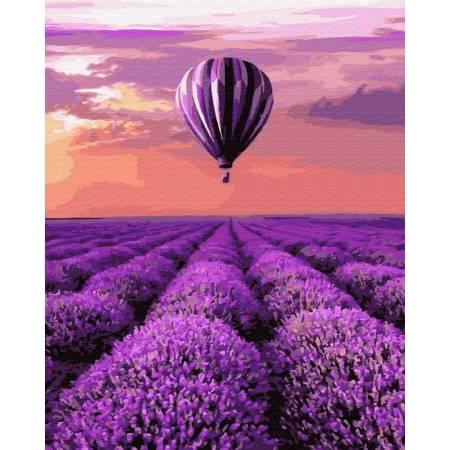Картина по номерам Воздушный шар над полем GX32305, Rainbow Art