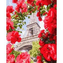 Эйфелева башня с прекрасного ракурса