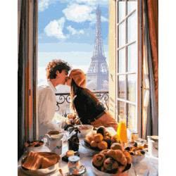 Солнечный завтрак в Париже