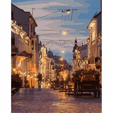 Картина по номерам Вечерние Черновцы GX3757, Rainbow Art