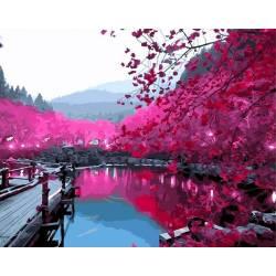 Вишнёвый сад в цвету