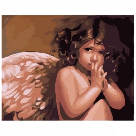 Картина по номерам Милый ангел GX6269, Rainbow Art
