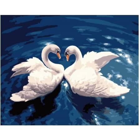 Картина по номерам - Лебединый танец