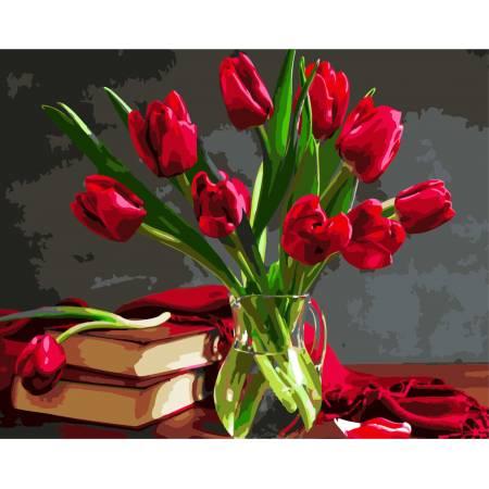 Нежный аромат тюльпанов
