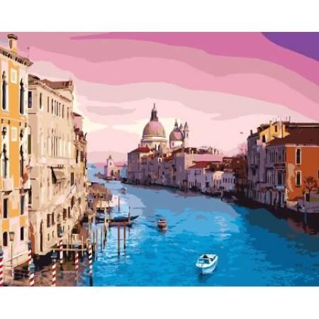 Картина по номерам Прекрасная Венеция GX8337, Rainbow Art