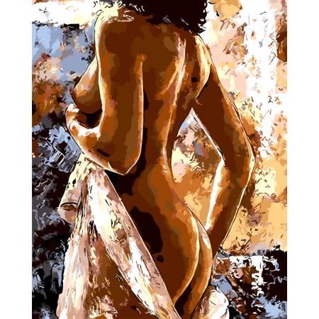 Картина по номерам Женственность GX8714, Rainbow Art