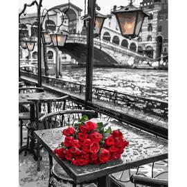 Розы под дождем