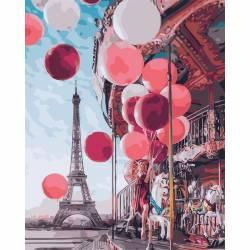 Карусель центре Парижа
