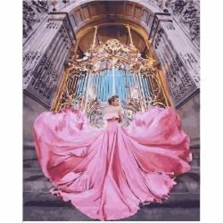 Малый дворец Париж, цветной холст