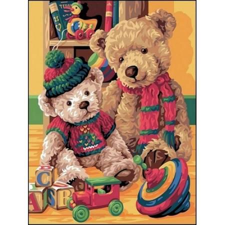 Картина по номерам «Любимые игрушки», модель VK146