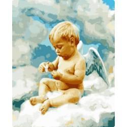 Ангелочек в облаках