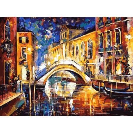 Картина по номерам Ночь в Венеции vp065, Babylon