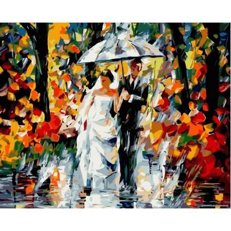 Картина по номерам Свадебный дождь vp080, Babylon