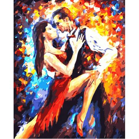 Картина по номерам Танго в Париже VP083, Babylon