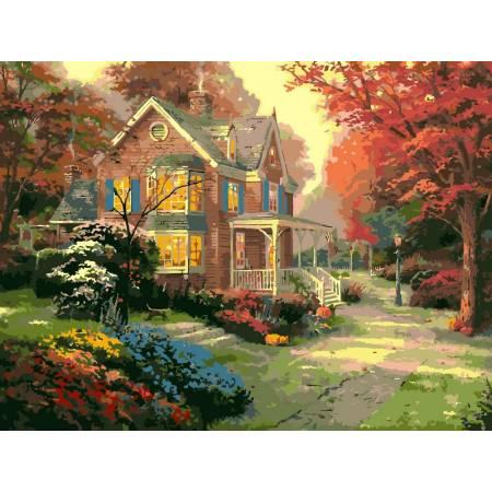 Картина по номерам Осенние краски VP154, Babylon