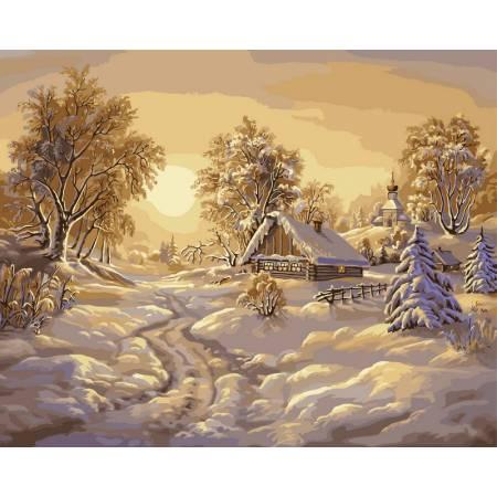 Картина по номерам Зимние сумерки VP209, Babylon