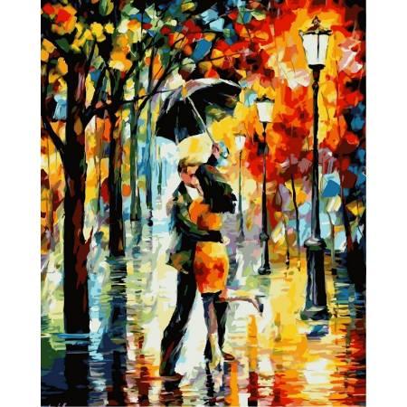 """Картина по номерам «""""Танец под дождем""""», модель VP340"""