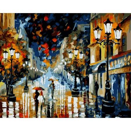 Картина по номерам Романтическая ночь vp361, Babylon