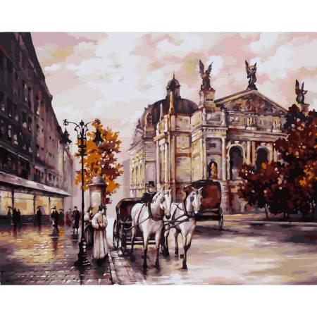 Картина по номерам «ЛьвовОперный театр», модель vp371