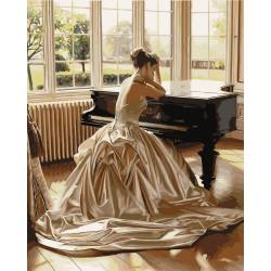 Девушка у рояля