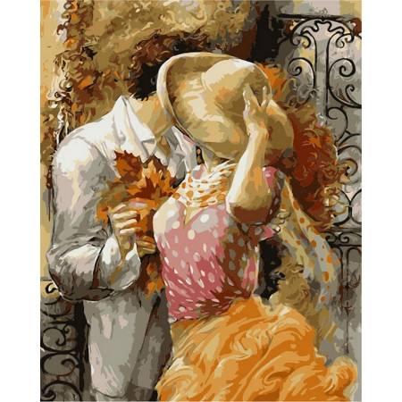 Картина по номерам «Влюбленные », модель VP377